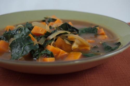 So many delicious soup recipes involving apples!
