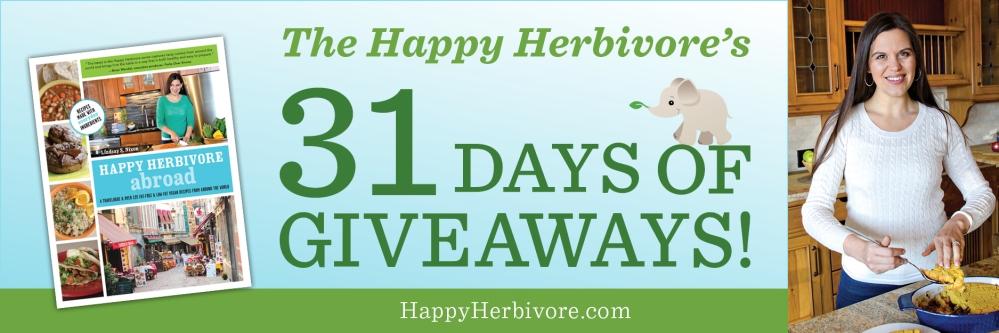 Happy Herbivore Abroad Giveaway (1/6)