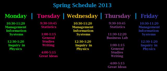 Spring-Schedule-2013