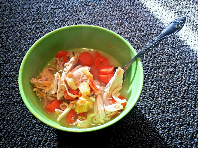 wiaw-chicken-veggie-soup