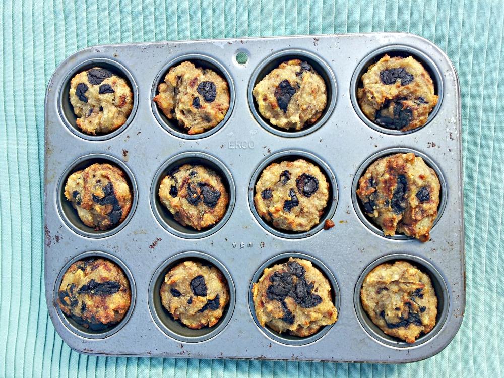 Chocolate Chip Banana Muffins (Grain-Free and Vegan) (5/6)