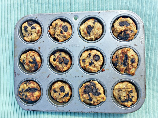 Chocolate Chip Banana Muffins (Grain-Free and Vegan)