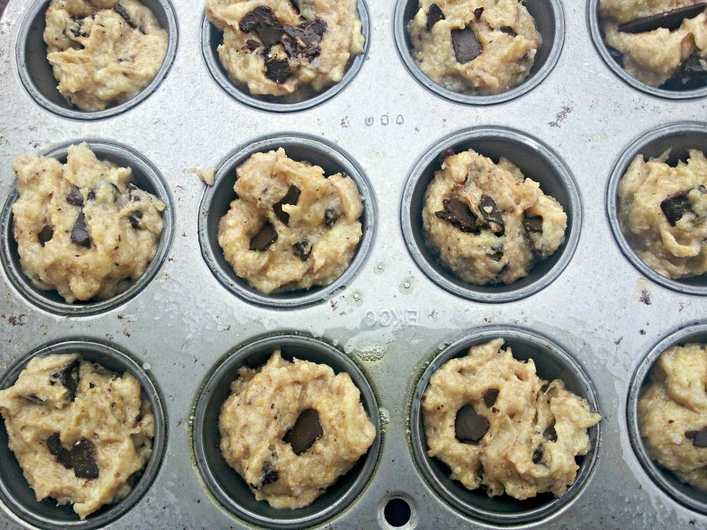 Chocolate Chip Banana Muffins (Grain-Free and Vegan) (3/6)