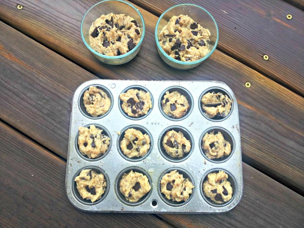 Chocolate Chip Banana Muffins (Grain-Free and Vegan) (1/6)