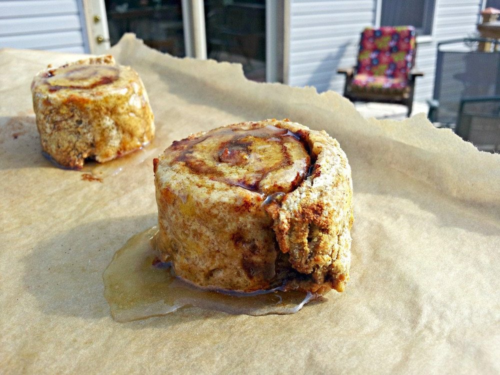 Coconut Flour Cinnamon Rolls (5/5)