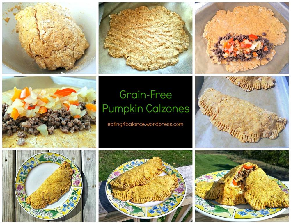 Grain-Free Pumpkin Calzones (WIAW) (1/6)