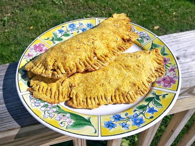 Grain-Free Pumpkin Calzones