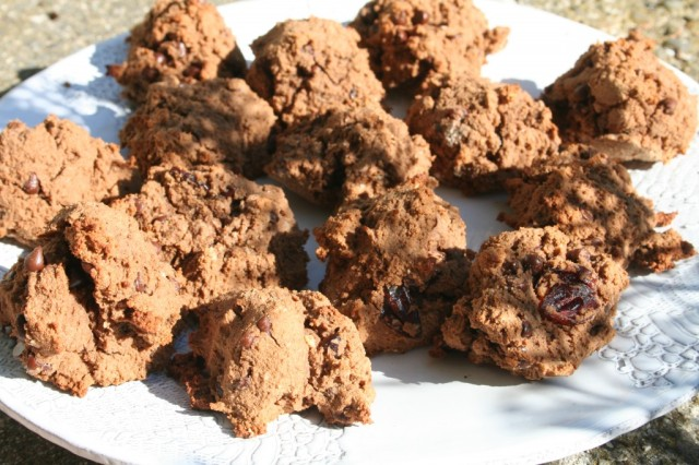 wiaw-not-pumpkin-cranberry-cookies