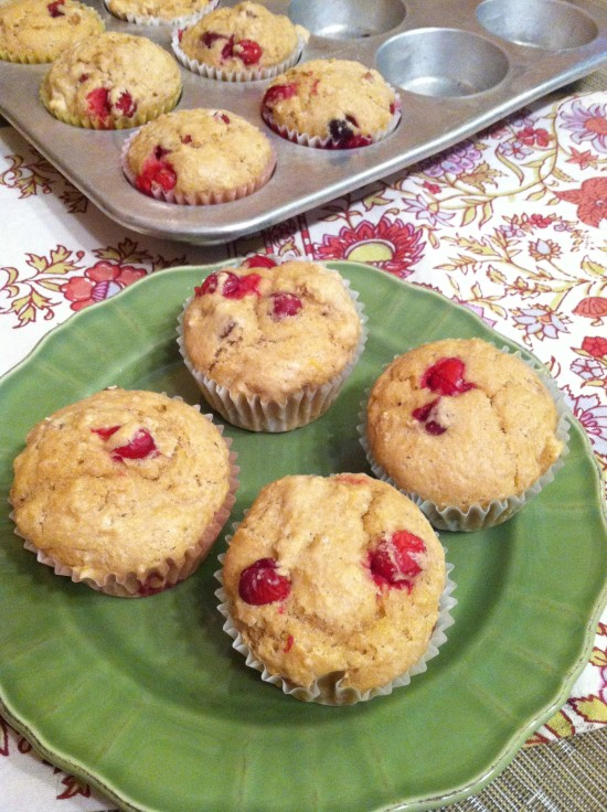 wiaw-not-pumpkin-cranberry-muffins