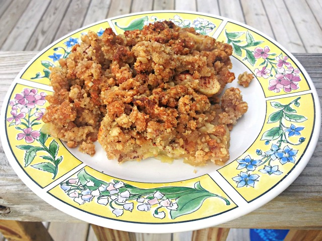 Apple Crisp (Grain-Free and Vegan)