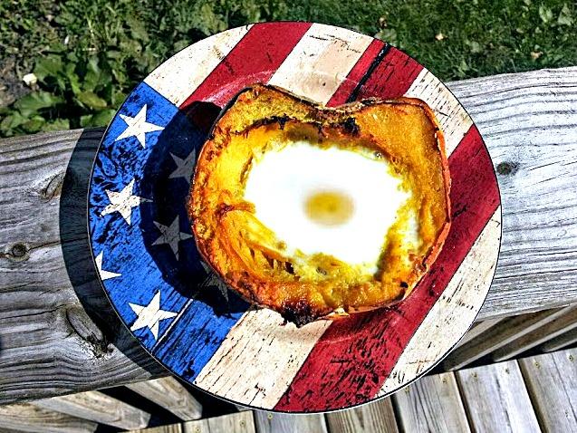Egg in a Squash