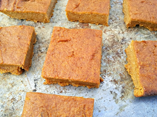 Pumpkin Pie Bars (Vegan and Grain-Free)