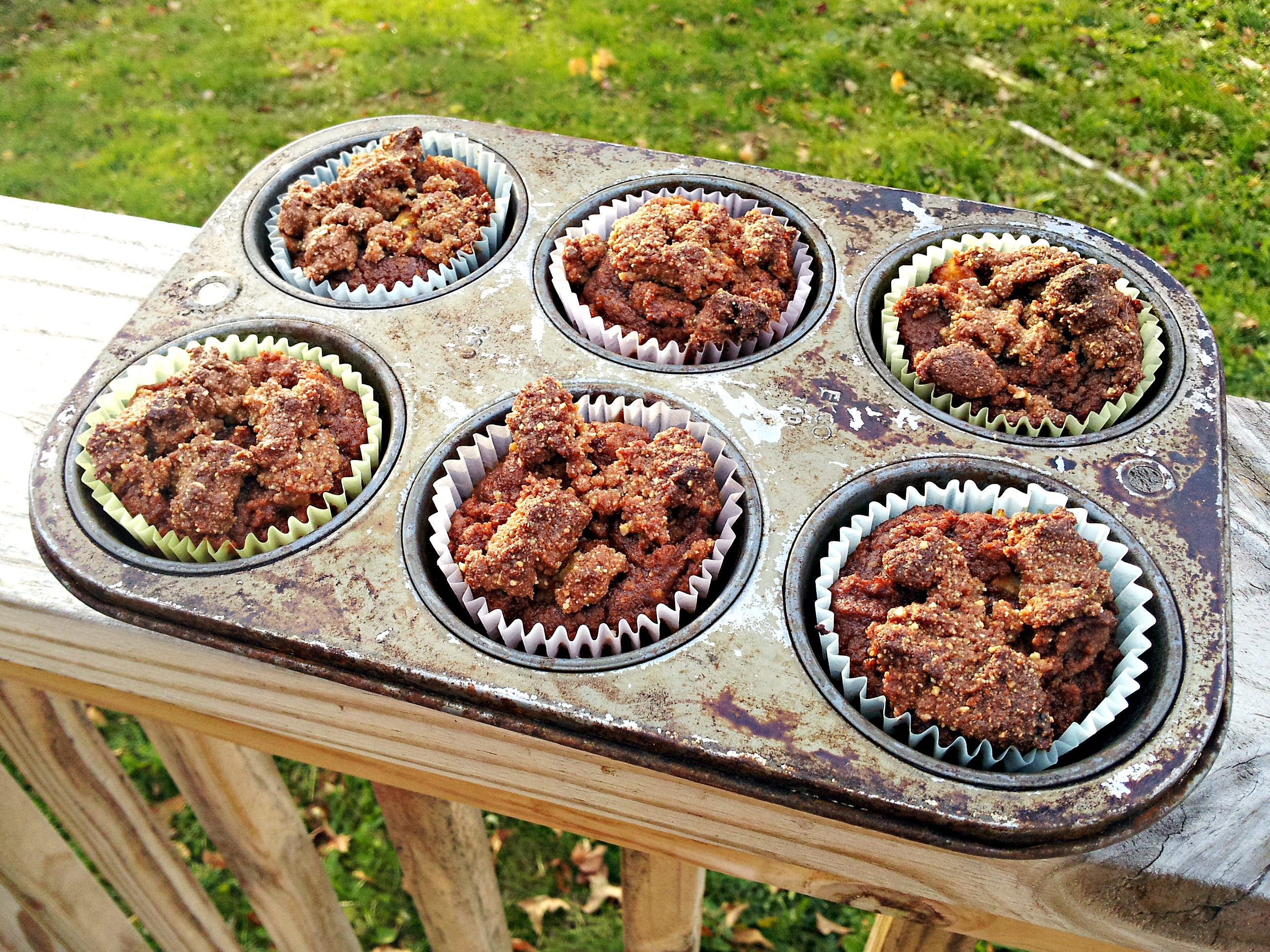 Pumpkin Apple Streusel Muffins-In-A-Jar (Recipe Redux) | Eating 4 ...