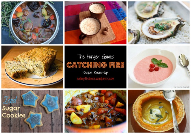 The Hunger Games Catching Fire Recipe Round-Up