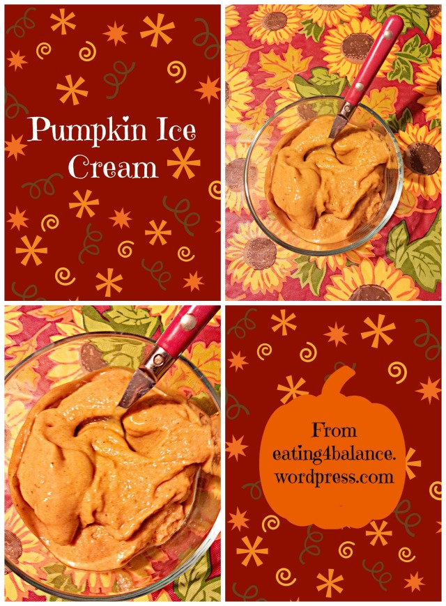 Pumpkin Ice Cream (Paleo and Vegan)
