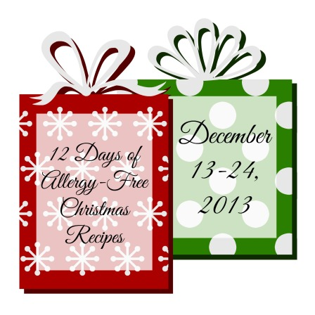12 Days of Allergy-Free Christmas Recipes