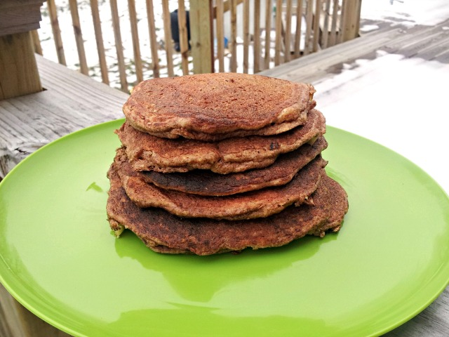Easy Apple Cinnamon Pancakes (Grain-Free with Nut/Dairy-Free Options)