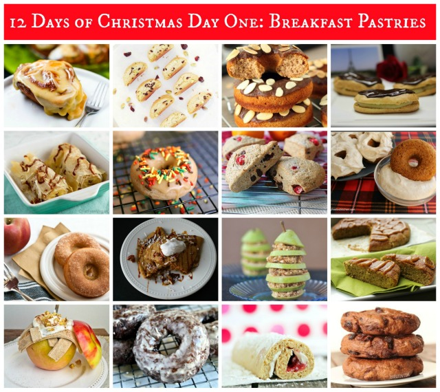 12 Days of Allergy-Free Christmas Day One: Breakfast Pastries