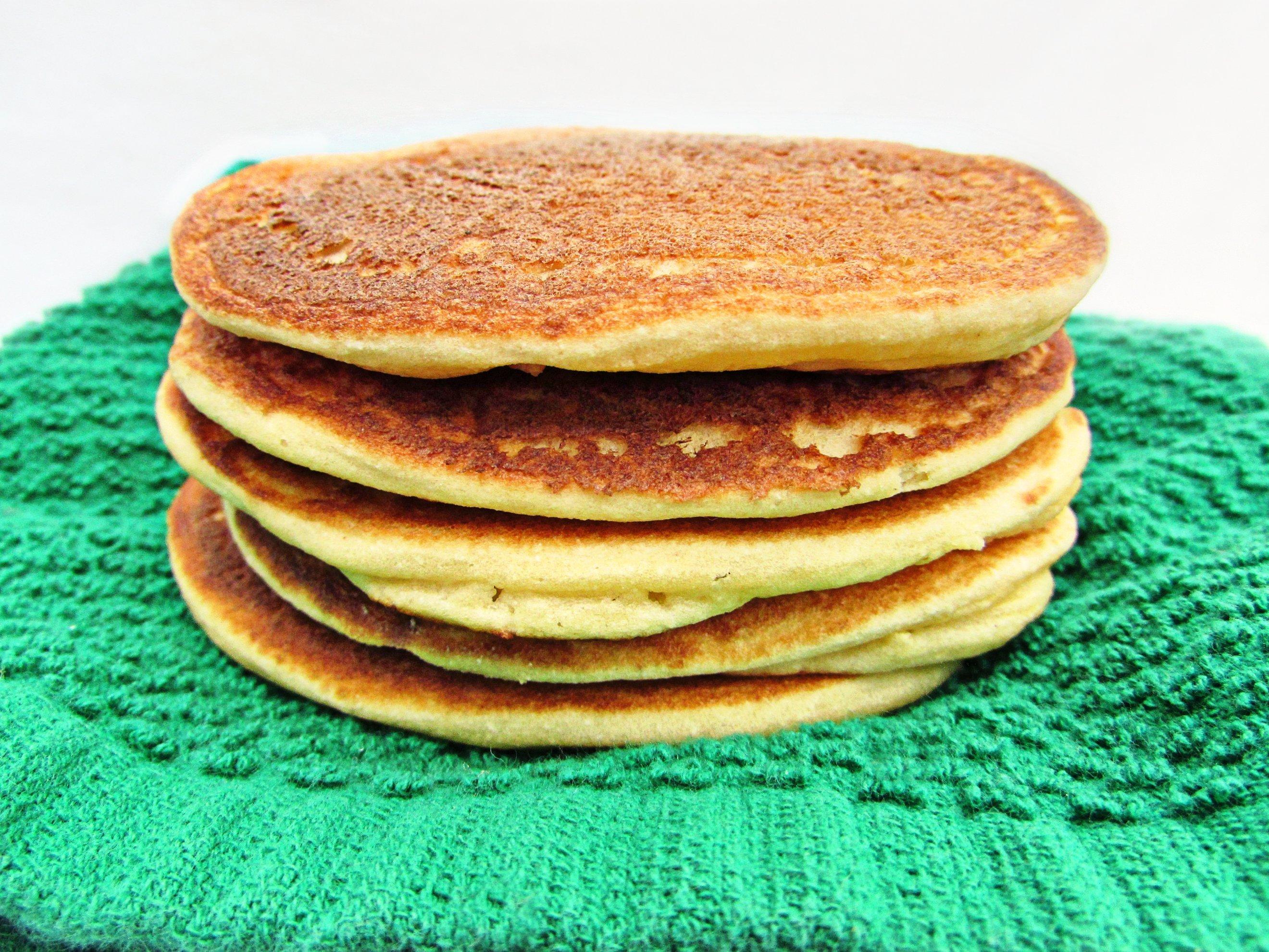 cassava and almond flour pancakes