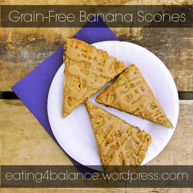 Grain-Free Banana Scones